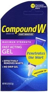 Compund W Wart Remover Gel