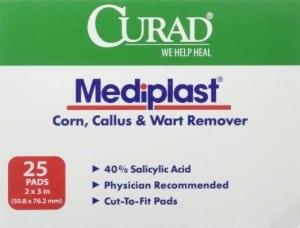 Curad Mediplast Wart Remover